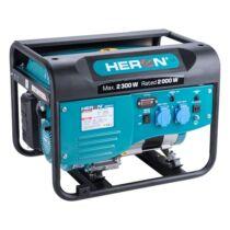 HERON benzinmotoros áramfejlesztő, max 1800 VA, egyfázisú