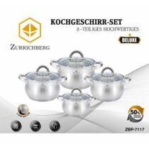 Zurrichberg 8 részes Főzőedény Készlet ZBP/7117
