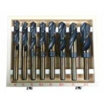 GEKO 8 db-os HSS fúró készlet fa dobozban (G38115)