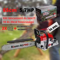 Higher Benzines láncfűrész 65cc BAUMR-AG 5,7KM SCH-CS57