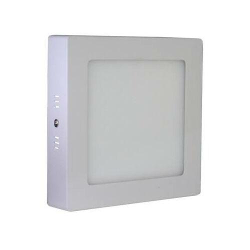 LED spotlámpa négyszögletes 12W, 960lm, 172x172x38mm (meleg fehér)