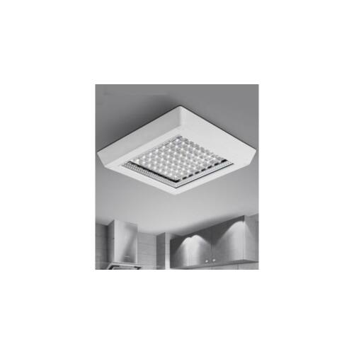 Falon kívüli szögletes LED panel 32x32cm 12W (meleg fényű)