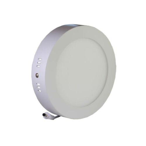LED spotlámpa kerek 18W, 1440lm, 225x35mm (semleges fehér)