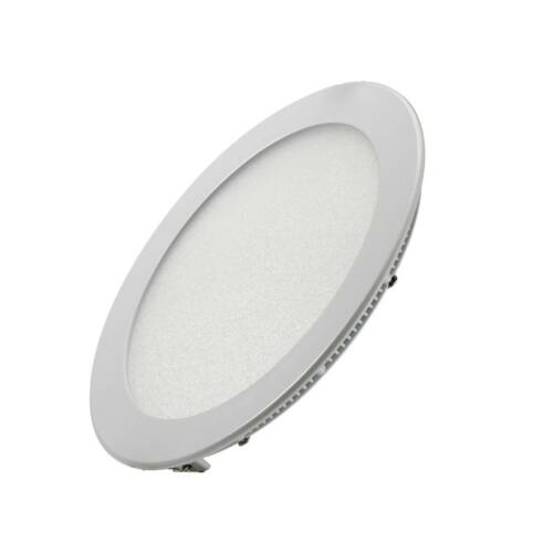 Süllyeszthető kerek LED panel 22cm 18W (hideg fehér)