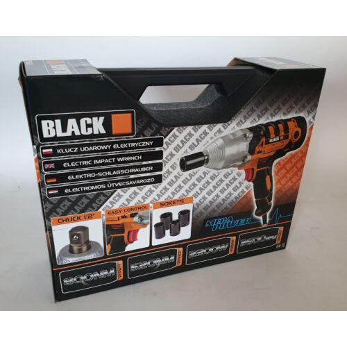 Black-Tools Elektromos csavarkulcs készlet 12063