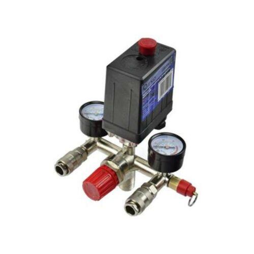 GEKO Komplett kompresszor nyomáskapcsoló szett G80306