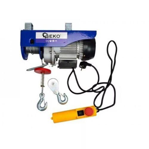 GEKO elektromos csörlő 150/300 kg G01087