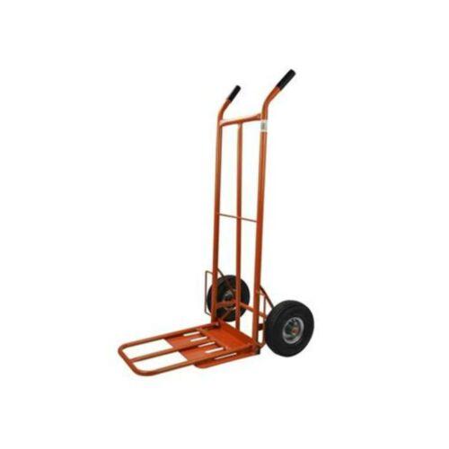 Szállító kocsi 150 kg 400x300mm (bővíthető platform) narancs