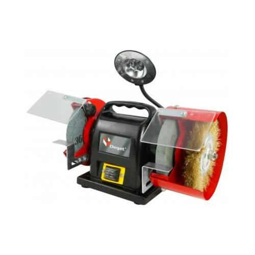Verke V08032 kettős köszörű 200 W / 150 mm