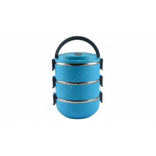Perfect Home - Ételhordó rozsdamentes 3 részes színes Kék
